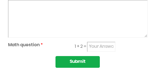 Add attributes in captcha response field
